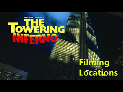 Towering Inferno 1974  FILMING LOCATION   Steve McQueen  Paul Newman