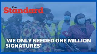 Raila Odinga on why Nyanza region led in the BBI signature collection