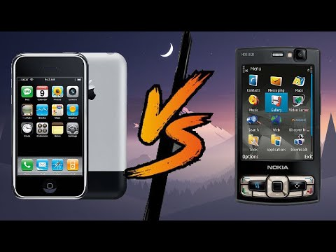 apple iphone 2 vs nokia n95 8gb
