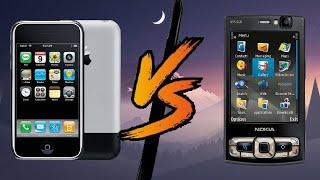 apple iphone 2 vs nokia n95 8gb
