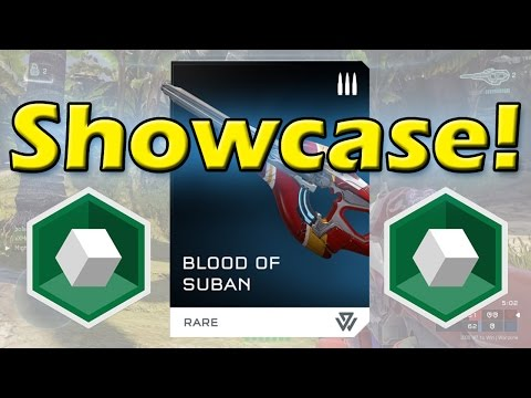 Halo 5 - Blood of Suban Showcase | Rare Weapon Showcase!