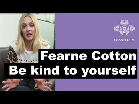 Fearne Cotton - Be kind to yourself and turn the negatives into positives #MentalHealthAwarenessWeek