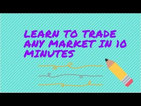Learn To Trade Any Market in 10 Minutes