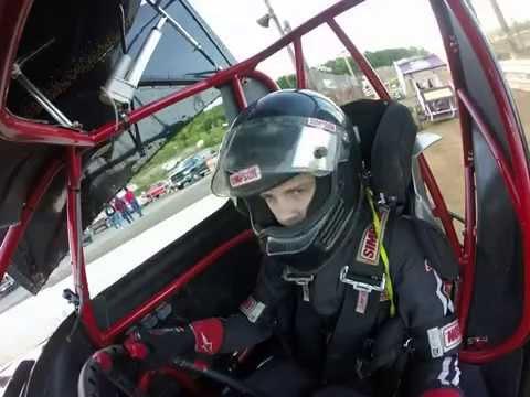 Logan Jones 5J warm ups @ Path Valley Speedway 5/23/15