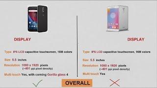 Moto G4 plus VS Lenovo K6 Note  Full Comparison