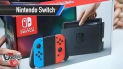 Nintendo Switch: Unboxing, Menü und erste Schritte