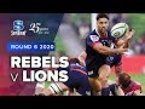 Super Rugby 2020 | Rebels v Lions - Rd 6 Highlights