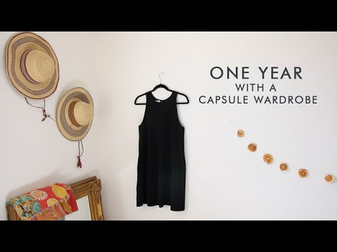 I've had a capsule wardrobe for a full year! Here's what I think about it. - 동영상