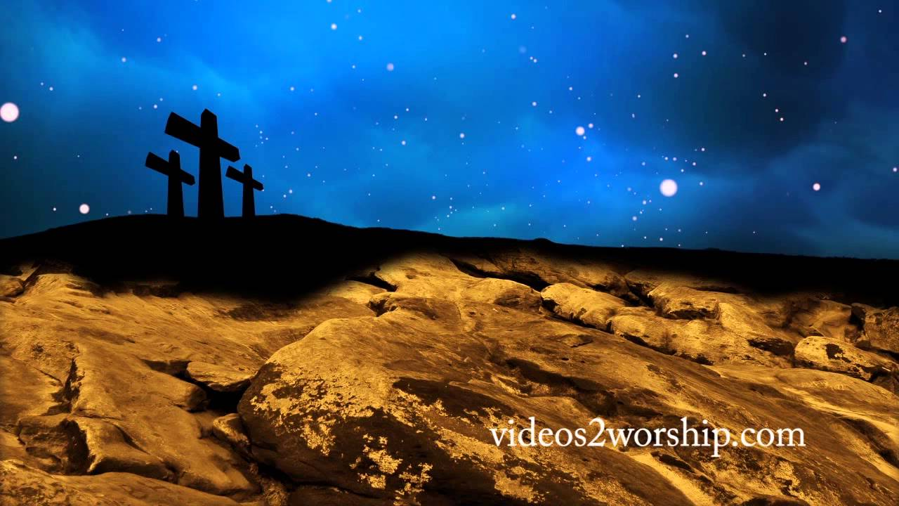 Three Crosses Seamless Easter Worship Motion Youtube