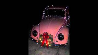1963 VW Bug...Christmas Lights in the making...