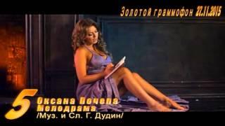 Золотой Граммофон 27.11.2015 Оксана Почепа - Мелодрама