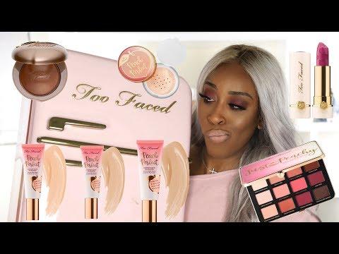 Too Faced Peaches and Cream WUTS GOOD?! | Jackie Aina