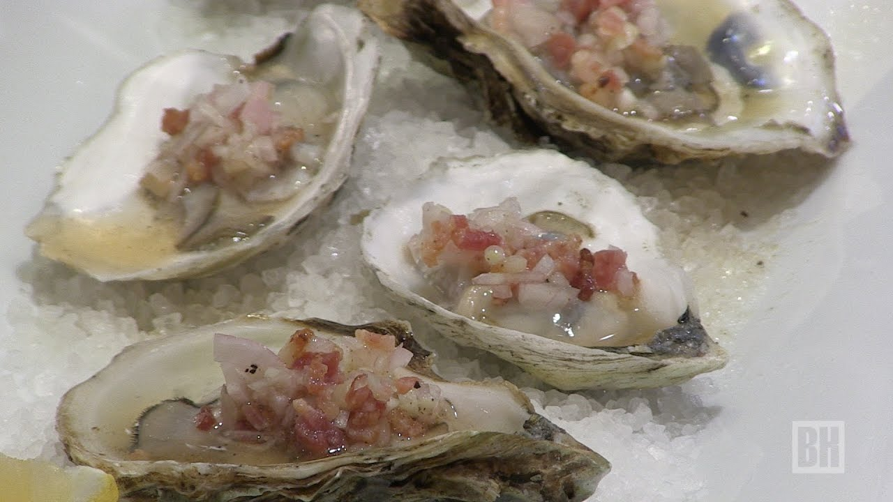 Cooking with Kerry: Oysters with Bacon Mignonette