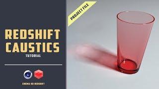 Redshift caustics quick walk-through [CINEMA 4D TUTORIAL]
