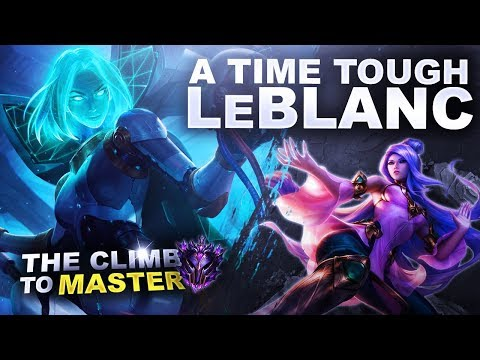 A TOUGH TIME ON LEBLANC! - Climb to Master | League of Legends thumbnail