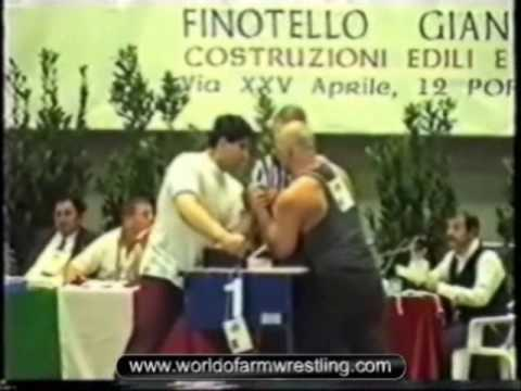1996 European Armwrestling Championship, Italy - Part 1/2