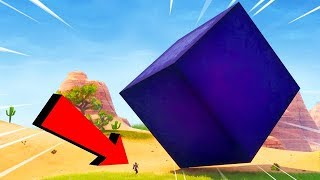 I am CRUSHED CUBE! ALIEN CUBE BEGAN To MOVE In FORTNIGHT + HARPY [Fortnite Sandbox]