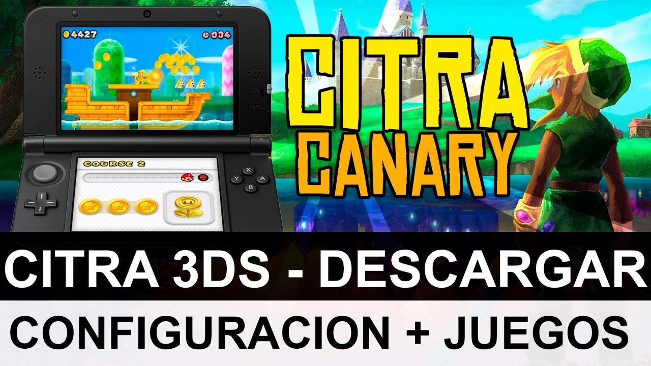 DESCARGAR EMULADOR DE 3DS (Citra) PARA PC + J…