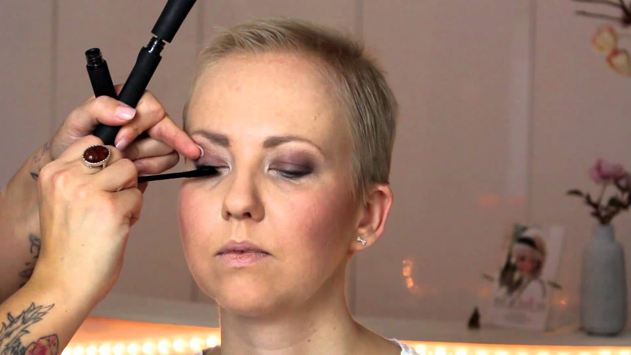 Make Up Nach Chemotherapie Und Bestrahlung Youtube