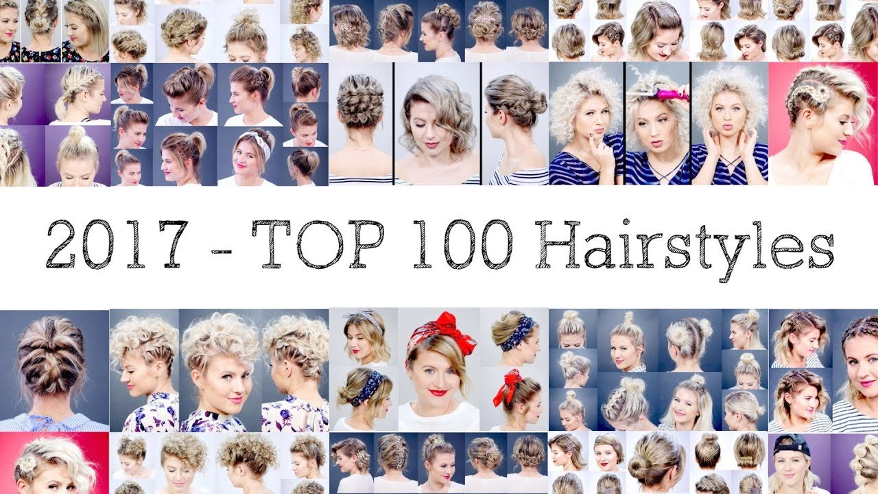 Short Hairstyles - Top 100 list - YouTube