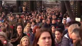 Неравнодушные москвичи собрались на Манежной площади на митинг против террора
