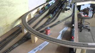 layout update 30 staging progress   x over install   chemical spill