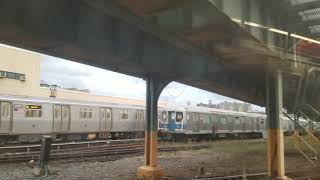MTA NYCT Subway: R40M Sitting in Coney Island Yard