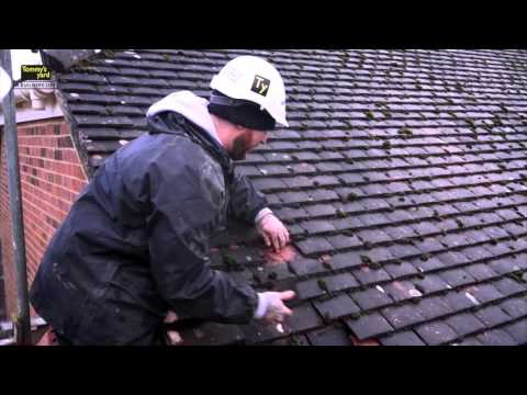 Tommy's Yard How to replace a roof tile