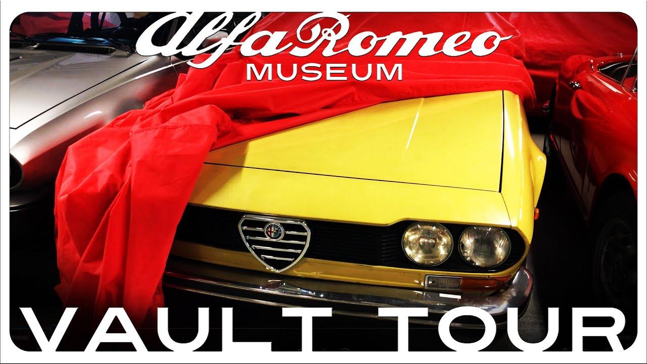 Alfa Romeo Museum Vault Tour