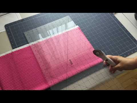 Cutting the Spinning Wheels Quilt Border