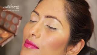 How To Apply Eye Shadow For Beginners | Makeup Tutorial By Indian Wedding Saree