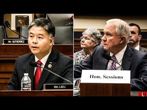 """Rep. Ted Lieu DESTROYS Jeff Sessions In Hearing, """"You're Either Lying Now, Or You Lied Then"""""""