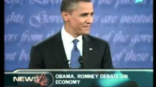 [One Global Village] - Obama, Romney debate on economy
