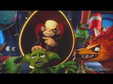 Skylanders: Trap Team - Doom Raiders Cutscenes + Capture Sequences