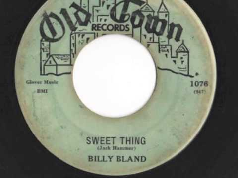 "Billy Bland - ""Sweet Thing"""