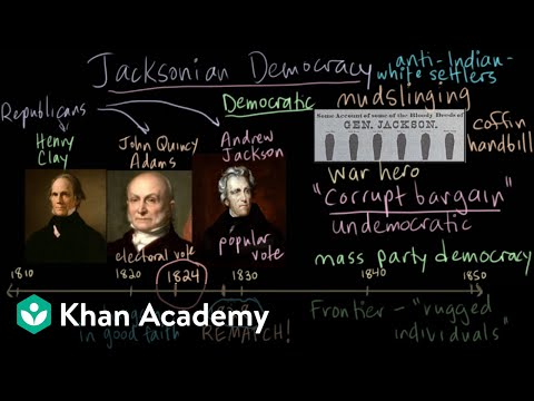 Jacksonian Democracy Part 3