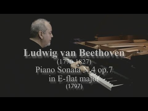 L. van Beethoven Sonata N.4 in E-flat major op.7 by David Ezra Okonsar