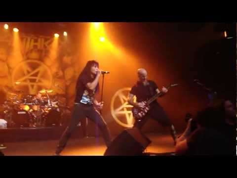 Anthrax (13/06/2012) - Antwerp - The devil you know