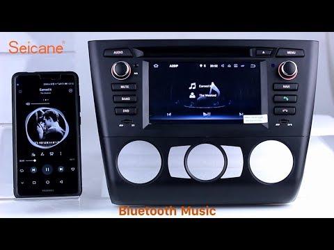 2004-2012 BMW 3 Series E81 E82 E88 116i Aftermarket Radio Stereo Upgrade for Android 7.1 GPS Sat Nav
