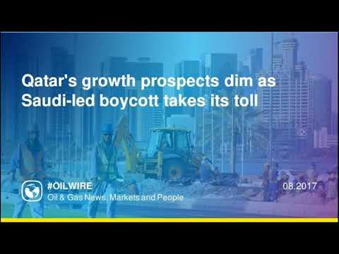 Qatar's growth prospects dim as Saudi-led boycott takes its toll