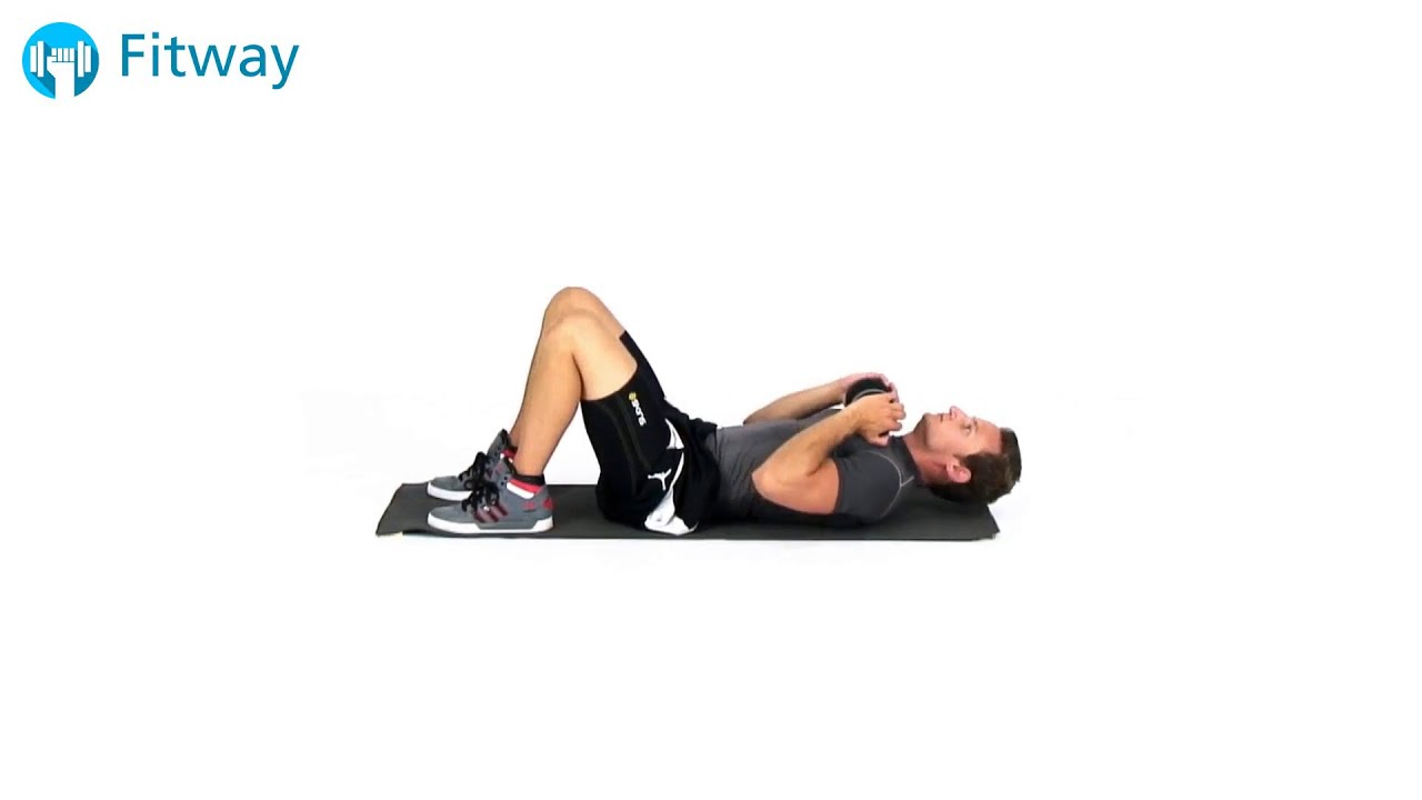 How To Do Dumbbell Crunch Floor Ab Workout Exercise Youtube