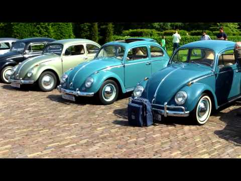 VW Beetle / Kever 1938 - 1967 Line Up , Louwman Museum 1.6.2014.