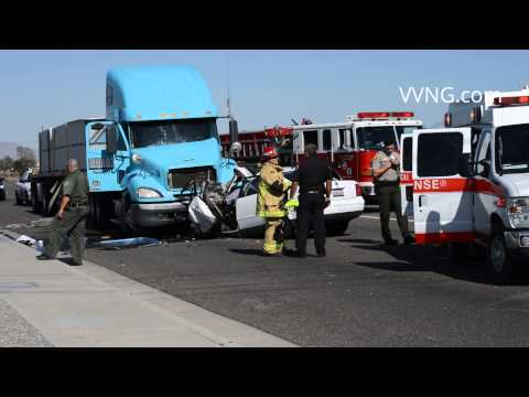 (Fatal) Traffic Collision Palmdale & Colbalt (Victorville, California)