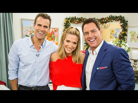 Cameron Mathison on his upcomming Holiday Movie  Hallmark Cahnnel