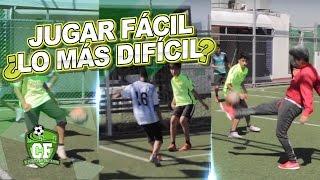 CLINICA DE FUTBOL - EJERCICIOS PARA JUGAR FÁCIL