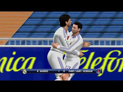 REAL MADRID X PARIS SAINT GERMAIN    PES 2008 GAMEPLAY