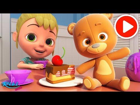 Маша и медведь Тедди - Машины Песенки - Nursery Rhymes на русском