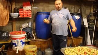 Подмосковный КАВАЛЬДОС( Кальвадос )Самогон из яблок.