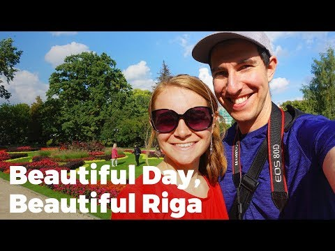 Beautiful Riga, Latvia - Travel Vlog Day #81