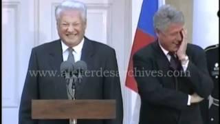 Clinton Yeltsin laughing - ein ungetrübter Herbsttag im Hyde Park